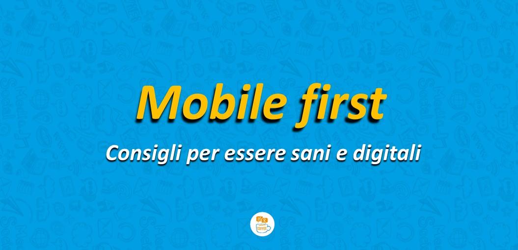 Copertina Mobile First
