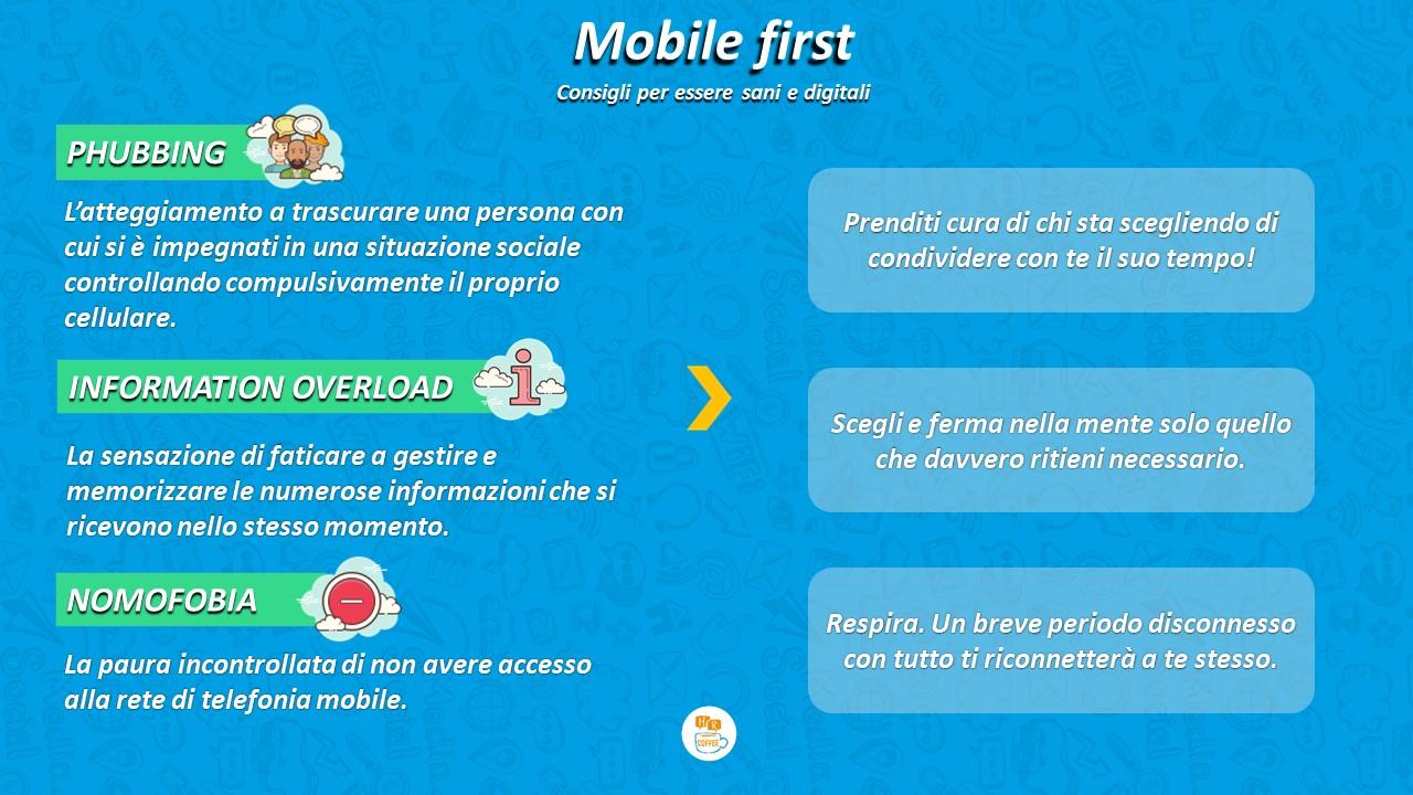 Mobile First ma soprattutto Health First